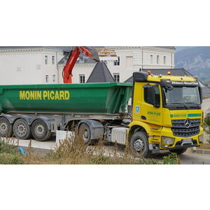 Démolition Monin Picard en Isère