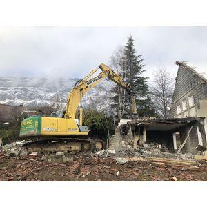 démolition Biviers (Isère)