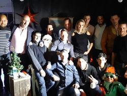 Repas de noël 2018 avec l'équipe Monin Picard